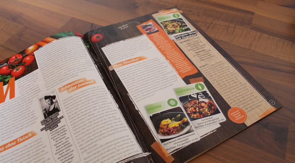 Textproduktion für die Kundenzeitschrift der DHL-Tochter AllyouneedFresh