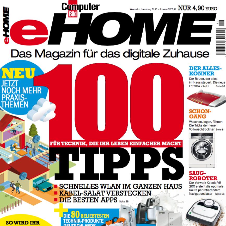 eHome aus dem Hause Computer Bild / Axel Springer